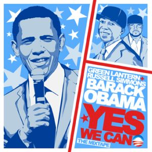 DJ Green Lantern Yes We Can Mixtape Cover