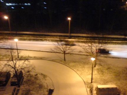 Schneeweisse Strasse