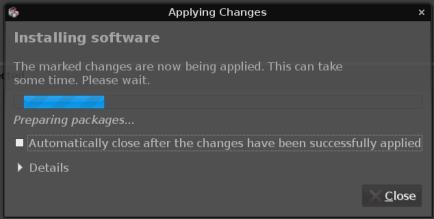 UbuntuStudio 7.10 Synaptics lesbar
