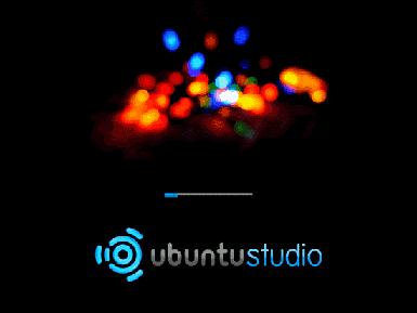 UbuntuStudio fährt hoch