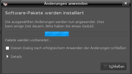 UbuntuStudio verschwommen
