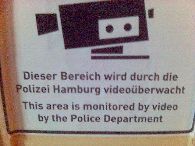 Videoüberwachung in Hamburg