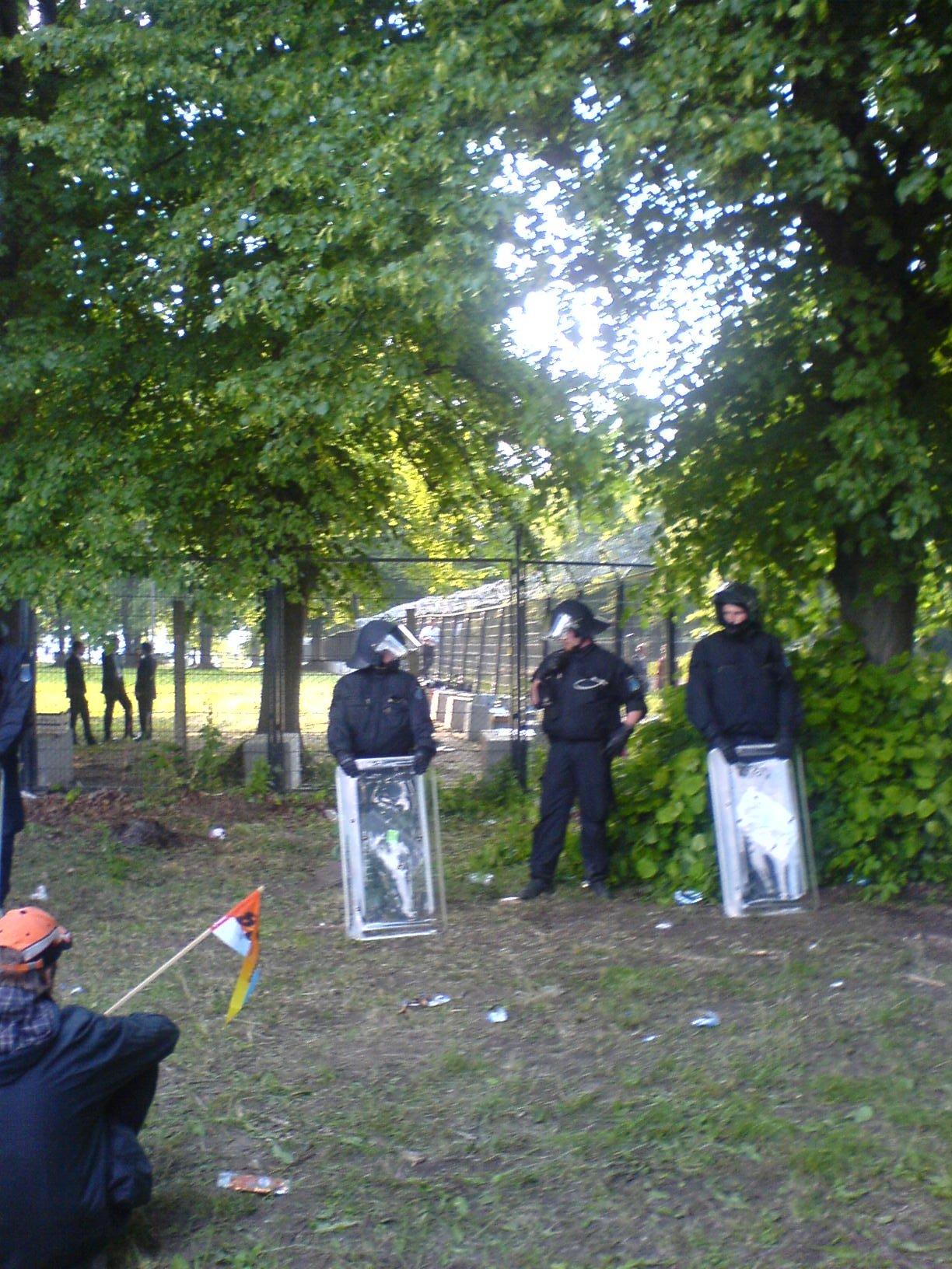 Sicherheitszaun um Heiligendamm