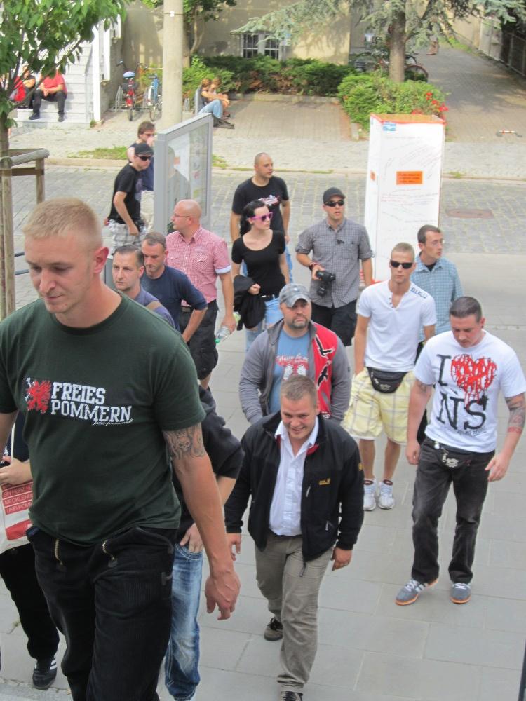 Nazis gehen in den Kreistag