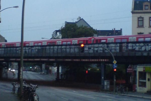 Sternbrücke in Hamburg