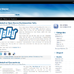 WordPress Blueblog-Theme version 1.3