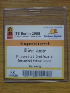 ITB Karte ist da