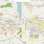 OpenStreetMap vs Google Maps am Beispiel HGW