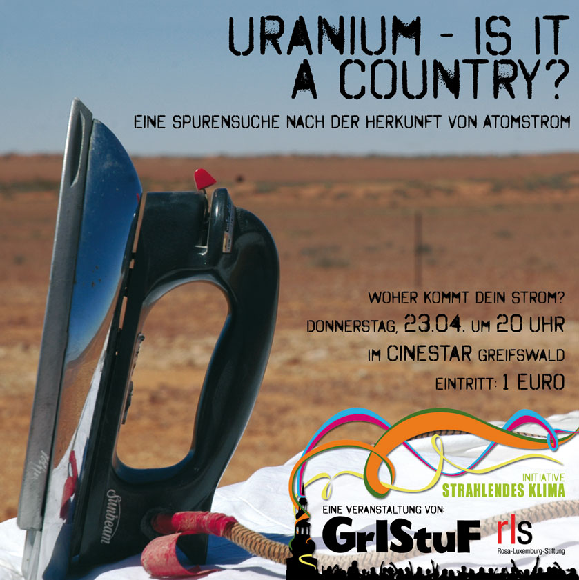 Uranium - Is it a country? Filmvorführung