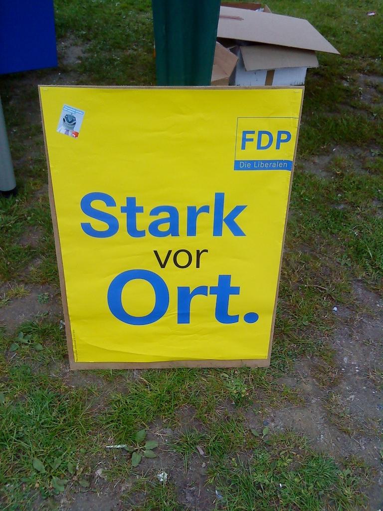 FDP-Plakat