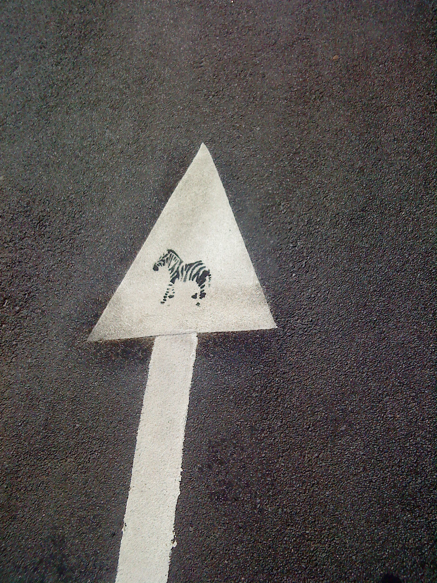 Streetart - Zebra