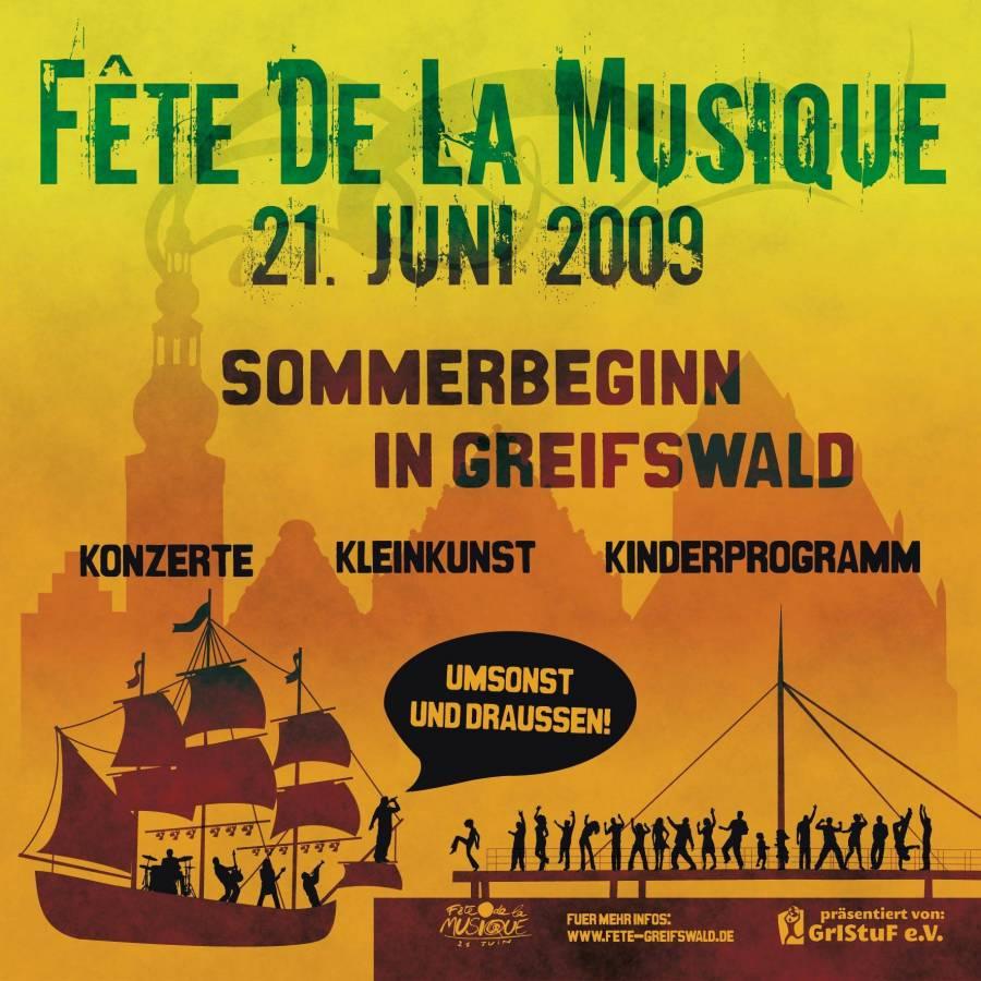Fête de la Musique 21. Juni in Greifswald