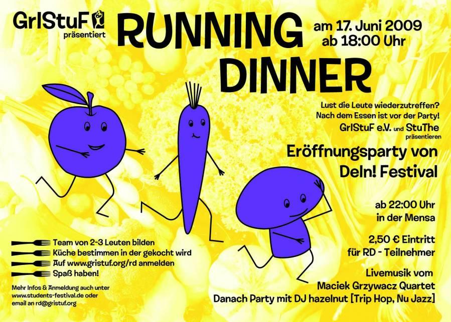 Running Dinner Greifswald 17. Juni