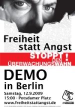 12.09. Demo gegen Überwachung