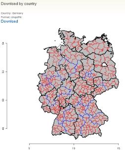 Geodaten: Adminstrative Gliederungen