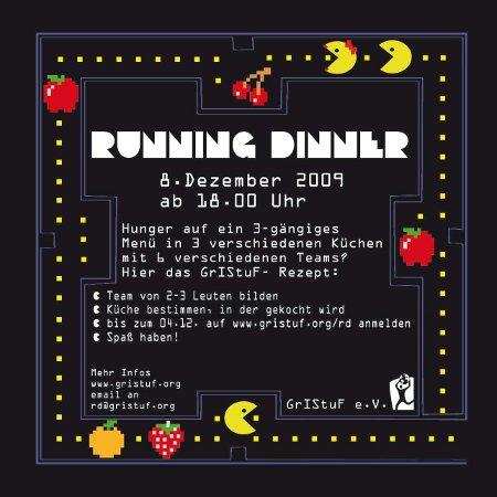 Running Dinner am 8. Dezember