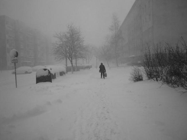 Schneesturm Keziban fegt über Greifswald *Update*