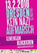 Plakat Dresden nazifrei