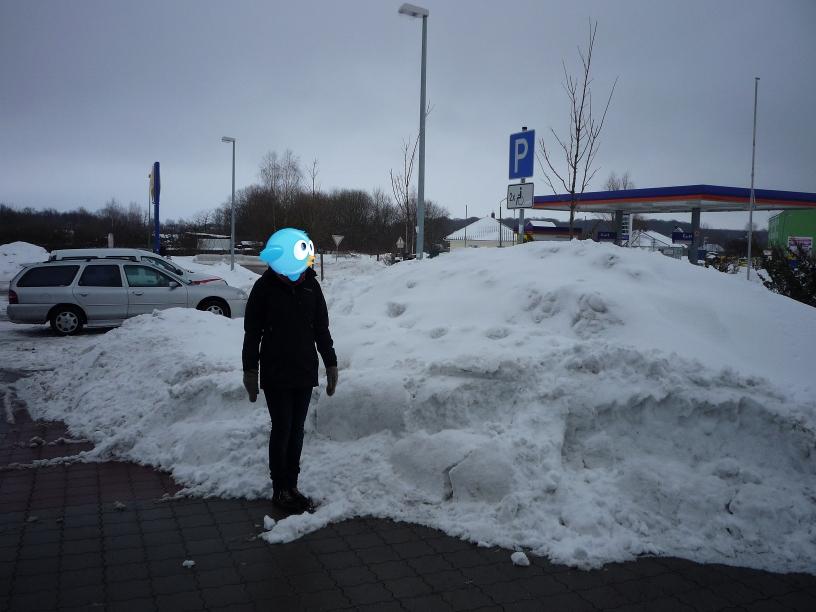 Lidl-Parkplatz