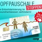 Aktion für den Sozialstaat – Kopfpauschale stoppen!