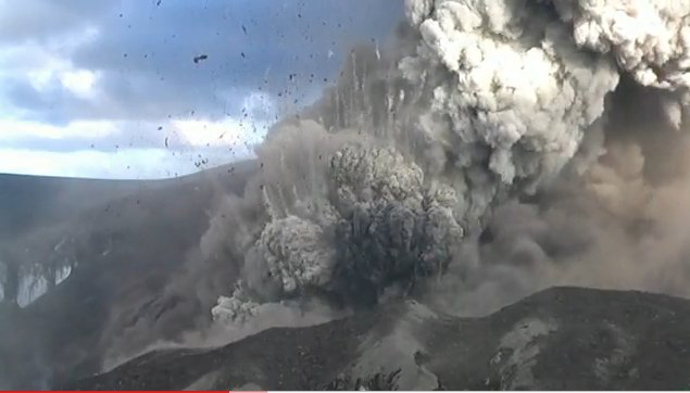 Screenshot Eyjafjallajökull Eruption