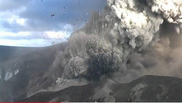 Screenshot Eyjafjallajökull Eruption