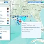 webGIS der Ölkatastrophe im Golf von Mexiko