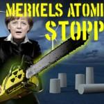 100.000 Unterschriften gegen Merkels Atompläne