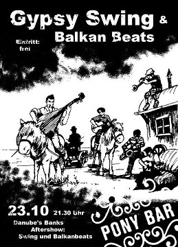 Gipsy Swing & Balkan Beats Party