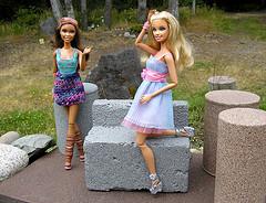 Jane & Gail Barbie