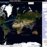 Karte: Globale Disparitäten bei der Verteilung der Unterseekabel