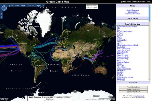Screenshot Greg's cable map