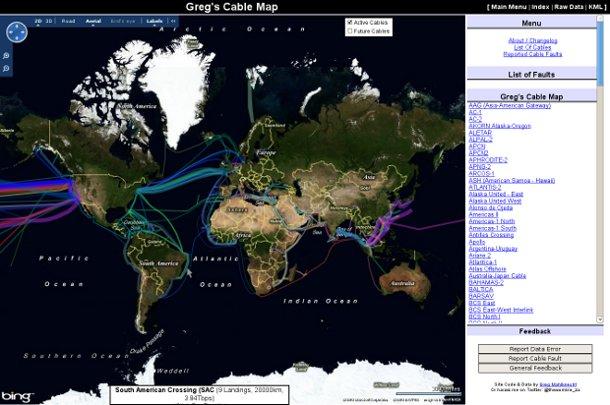 Screenshot Greg's cable map