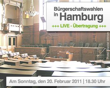 Bürgerschaft Hamburg - Foto CC BY-SA-2.0-de by Daniel Ullrich