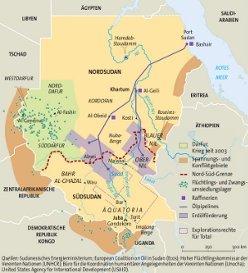 Karte: Sudan