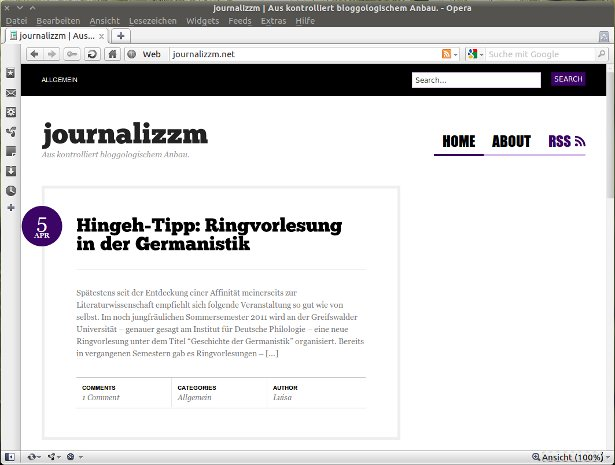 Screenshot journalizzm.net