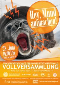 Flyer Vollversammlung Sommersemester 2011