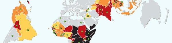 Karte: land grabbing