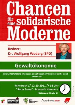 Flyer Vortrag Gewaltökonomie