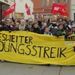 1000 Personen bei Bildungsstreik in Greifswald