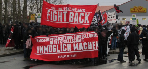 Anti-Nazi-Demo Greifswald