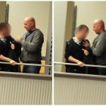 """Kreistagsmitglied Dirk Bahlmann (NPD) im Kreistags-""""Tumult"""""""