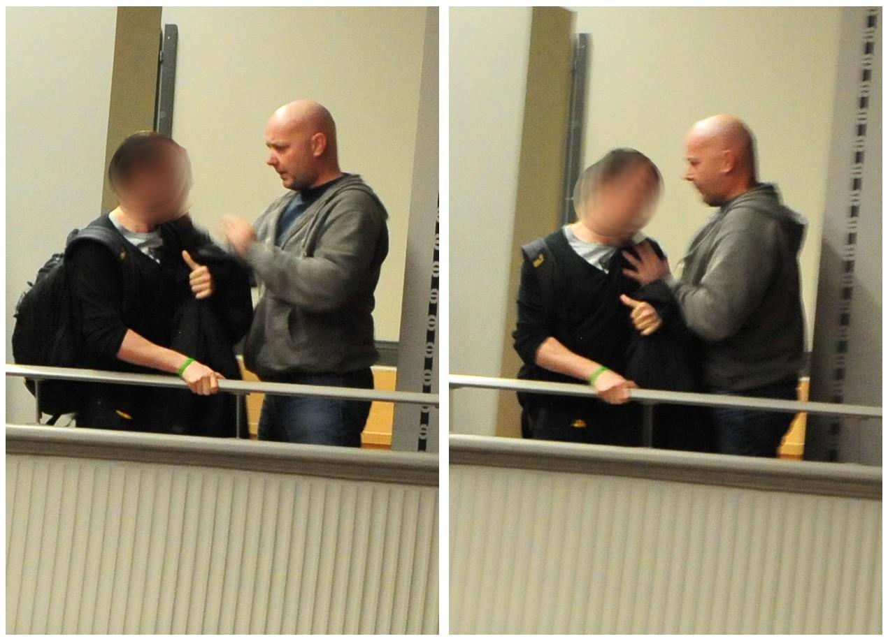 Dirk Bahlmann (NPD) packt hart an.