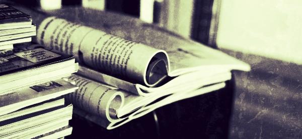Zeitungslese