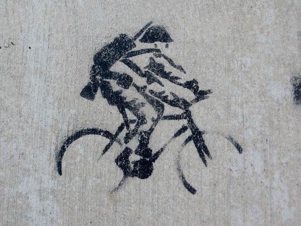 Streetart Soldat