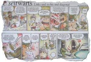 Comic im vorwärts März 2012