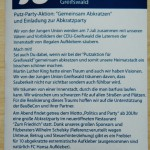Greifswalder CDU-(Putz)teufel gegen Wildplakatierung