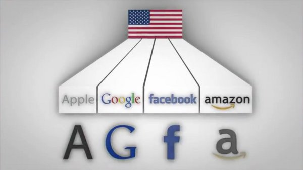 Apple. Google. Facebook. Amazon. - agfa