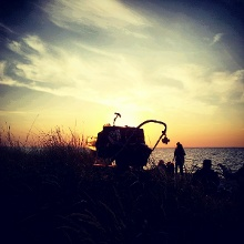 Kleines Rabauke in Gahlkow am Strand.