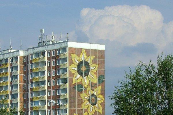 Rostock-Lichtenhagen Sonnenblumenhaus